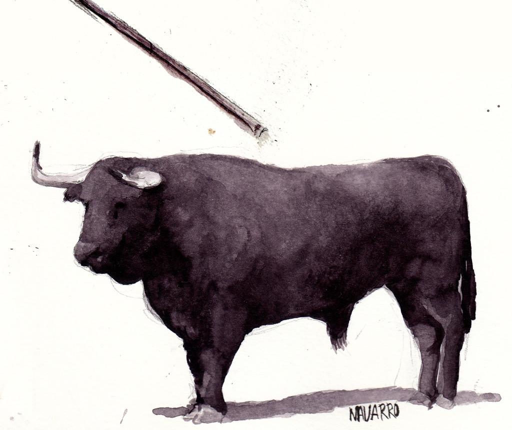 La vaquilla pasaba los 200 kg. Fácilmente podríamos hablar de un novillo.